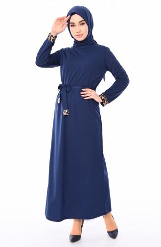 فستان نيلي 4030-04