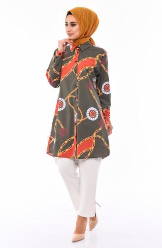 Khaki Tunic 1932A-05