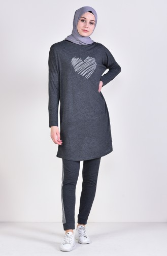 Light Black Sweatsuit 0022-02