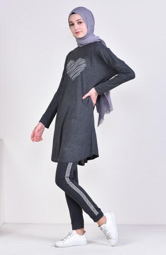 Striped Sport pants 0022-02 Smoked 0022-02