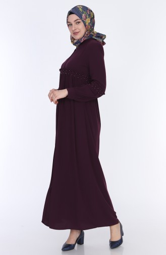 Damson Abaya 5928-04