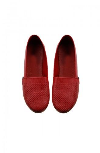 Chaussures Pour Femme 0127-01 Rouge 0127-01