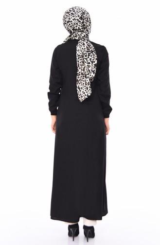 Black Abaya 4030-01