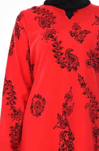 Robe Hijab Rouge 0004-11