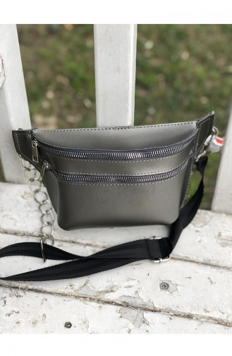 Women´s Waist Bag U08-04 Gray 08-04