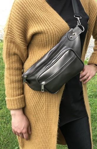 Women´s Waist Bag U10-06 Gray 10-06
