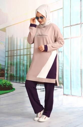 Light Lilac Sweatsuit 10003-01
