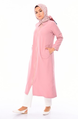 Pocket Abaya  5471-05 Dried Rose 5471-05