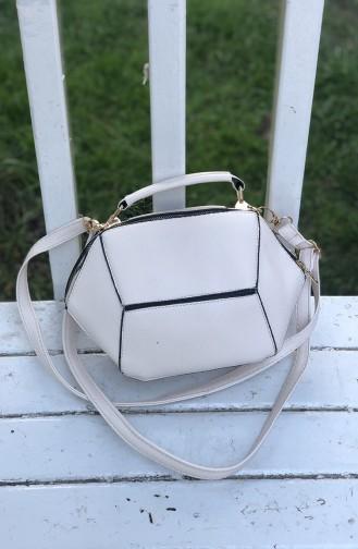 White Shoulder Bag 06-02
