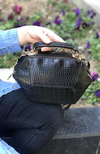 Black Shoulder Bag 06-05
