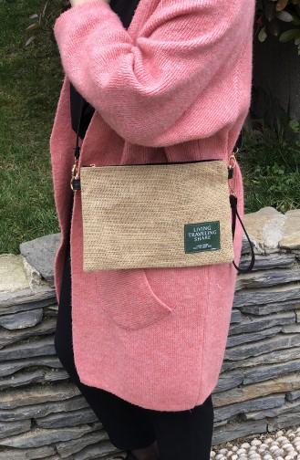 Tobacco Brown Shoulder Bag 18-02