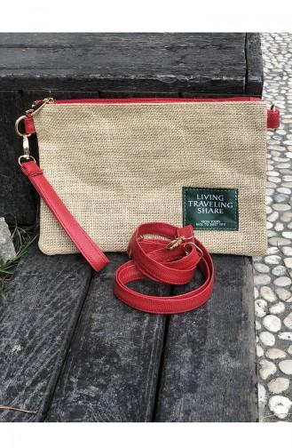 Red Shoulder Bag 18-03