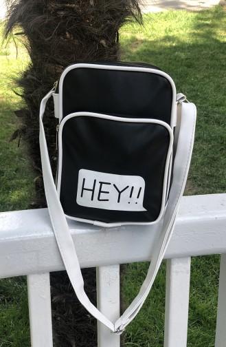 Black Shoulder Bag 20-04