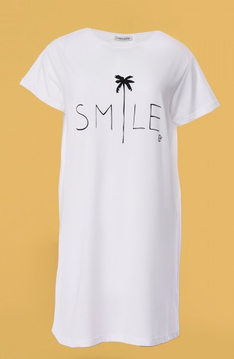 White T-Shirt 0013C-01
