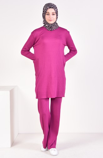 Tunic Pants Binary Suit 3316-25 Light Plum 3316-25