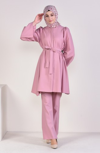 Belt Tunic Trousers Double Suit 0218-11 Powder 0218-11
