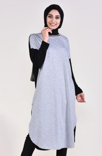 Gray Tunic 3689-05