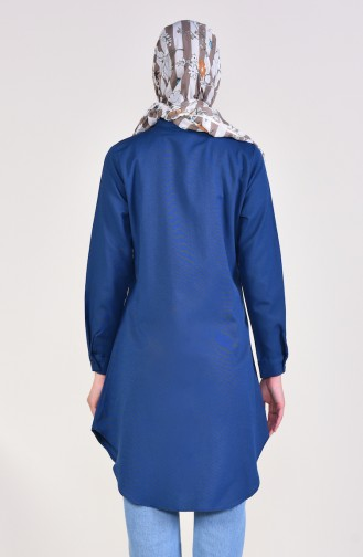 Light Navy Blue Tunic 2484-15