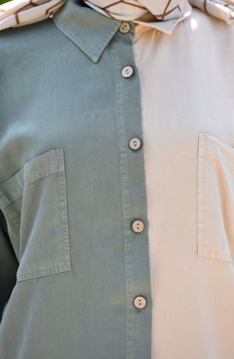 Khaki Tunic 6297-03