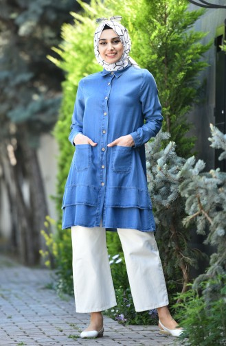 Jeans Blue Tunic 6305-03