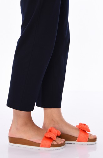 Claquettes Pour Femme Cutes Jf-Trl002 Orange 002