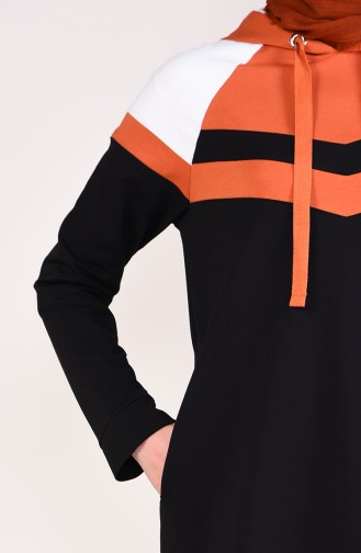 Hooded Tracksuit  9050-03 Black 9050-03