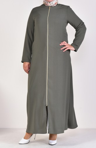 Khaki Abayas 0282-02