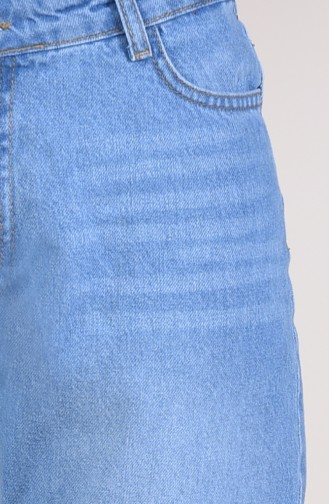 Jeans Blue Pants 2568-01