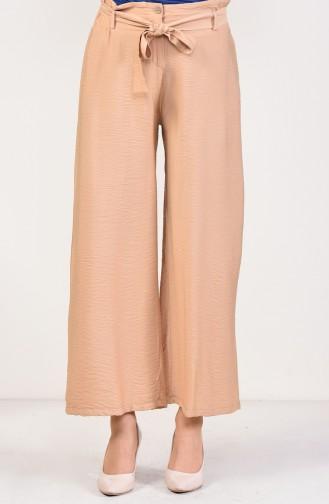 Pantalon Large a Ceinture 2579-06 Camel 2579-06