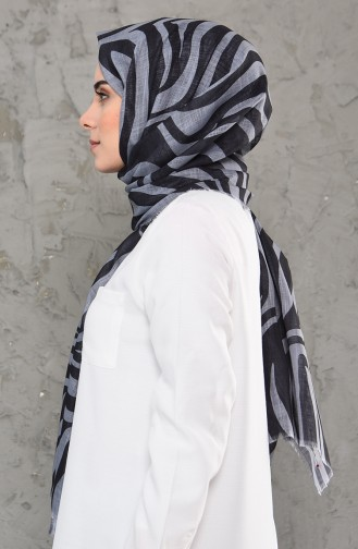 Light Black Shawl 4338-01