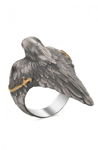 Silver Gray Ring 005