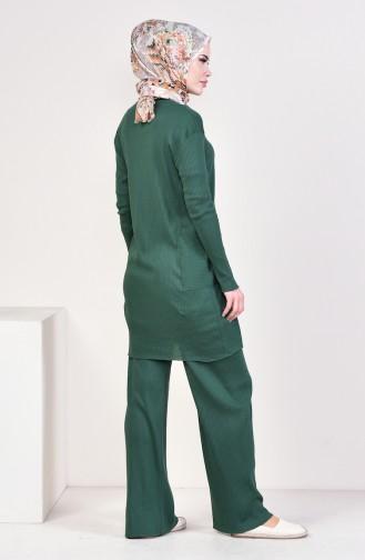 Tunic Pants Binary Suit 3316-24 Green 3316-24