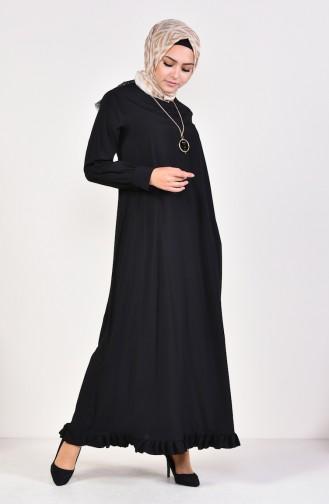 Robe Hijab Noir 1202-01