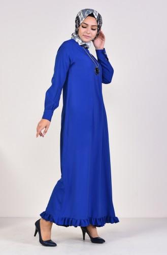 Robe Hijab Blue roi 1202-03