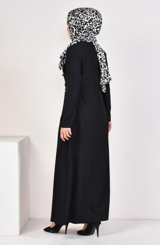 Kleid 1189-01 Schwarz 1189-01