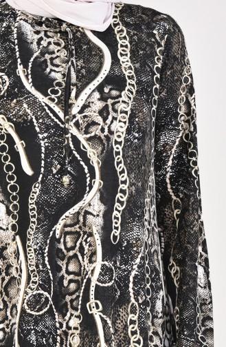 Beige Dress 2560L-01