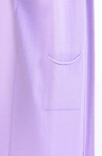 Slim Fit Knitwear Pocket Vest 4128-30 light Lilac 4128-30