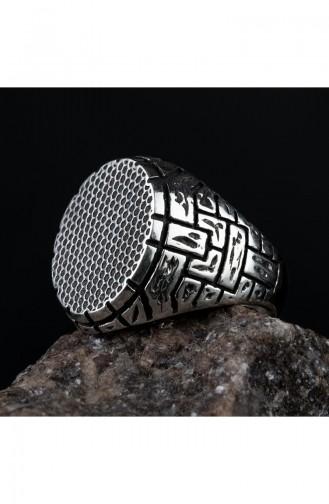 Silver Gray Ring 001