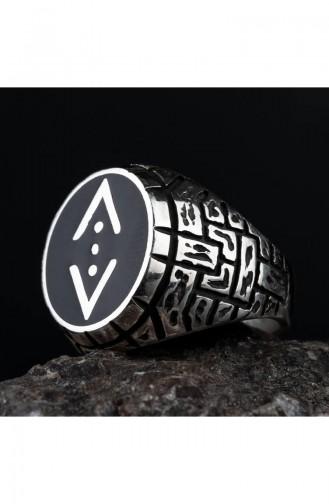 Silver Gray Ring 00