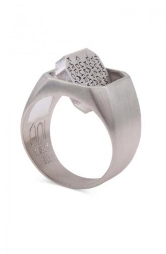 Silver Gray Ring 010
