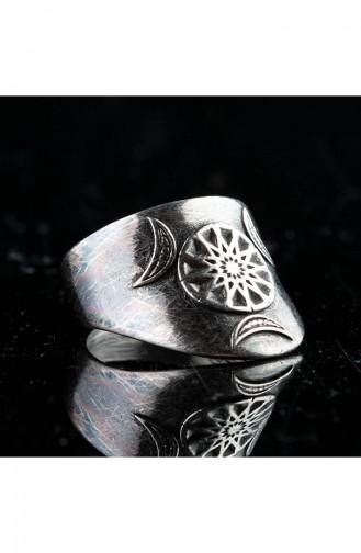 Silver Gray Ring 009
