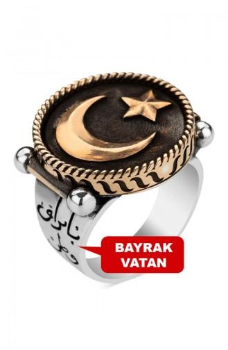 Mehmetçik Kutlu Zafer Dizisi Lisanslı Halil Paşa Yüzüğü MEHMETCİK-006