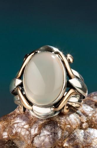 Sultan Abdul Hamid Series White Stone New Sultan Abdulhamid Ring 022