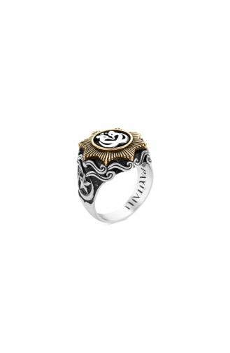 Silver Gray Ring 0317