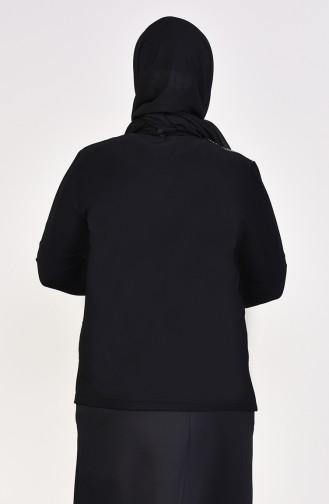 Black Blouse 2218-01