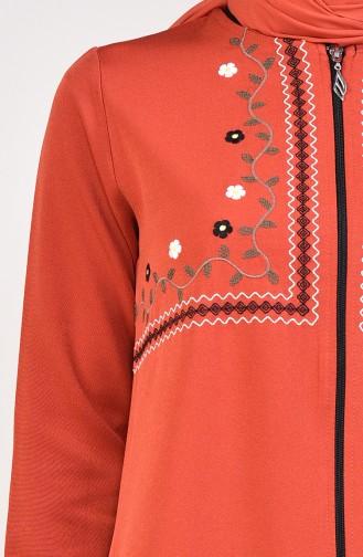 Embroidered Abaya 99195-05 Tile 99195-05