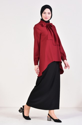 Claret red Tuniek 2071-01