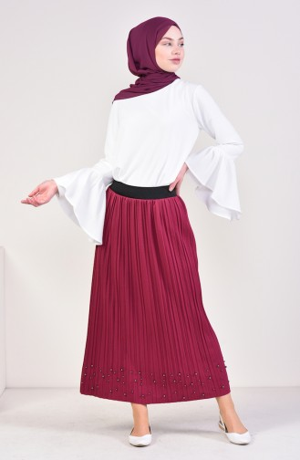 Pleated Skirt 5026-11 Lilac 5026-11