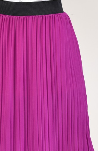 Pleated Skirt 5026-13 Pink 5026-13