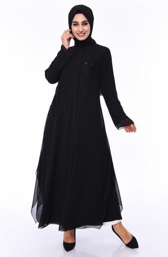 Black Abaya 35884-01